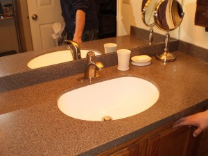 Love the new countertop and sink!